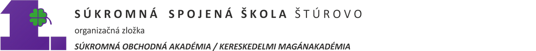 1. Súkromná obchodná akadémia